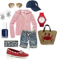 Fireworks on the 4th, created by jlucke on Polyvore