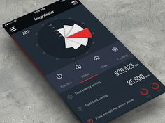 Energy Monitor - by Kingyo | #ui
