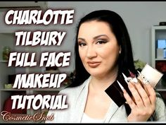 MAKEUP TUTORIAL FULL FACE CHARLOTTE TILBURY NATURAL LOOK feat THE VINTAG...