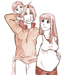 Elric Family by m7angela