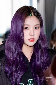 190329 Sangam CJ ENM Center Attend recording #아이즈원 #izone #wonyoung #원영 #장원영 #jangwonyoung Kpop Hair Color, Korean Hair Color, Beauty Games, Hair Color Purple, Hair Colors, Japanese Girl Group, Dye My Hair, Korean Beauty, Hair Inspo