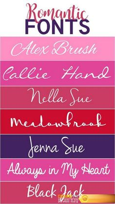 Find your Grapfix Desire With US http://www.desirefx.me/romantic-fonts-4-000020/