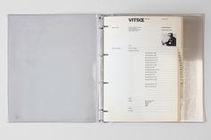 1973: Wolfgang Schmidt'sdesign for a loose-leaf... - Vitsœ