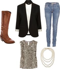 """Casual Night"" by mereweather ❤ liked on Polyvore"