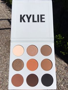 #KyShadow Kylie Cosmetics first bronze eyeshadow palette padwage.com/...