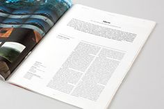Color Magazine Redesign by Wedge & Lever , via Behance