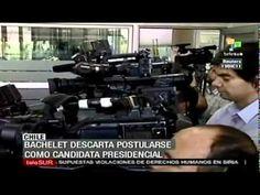 Bachelet descarta postularse como candidata presidencial