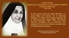 María del Carmen de la Santísima Trinidad, Carmelita Descalza, fundadora del monasterio de Tremembé