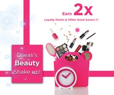 """#aplavaoffer-Friends,we assure you of a """"Beauty Shake-Up"""", this Diwali !! Presenting,some of the best deals that could brighten you up, this season!! Double Your benefits by earning 2X Loyalty Points for your next Online purchase of Rs.1,000/-, or more!! This is not all- For every 100 Loyalty Points redeemed, you could save Rs.30/- during your next purchase!! Why Wait?? Offer valid till 11th November,2015!  Buy Now from your Beauty Destination-http://www.aplava.com/offers.html"""