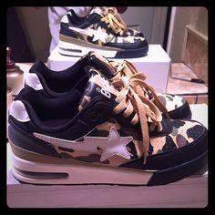 019641b9435c 12 Best Bape shoes images