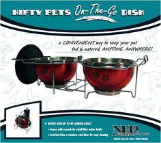 Pets On-The-Go Food and Water Dish (blue) x x --- You could find more details by visiting the image link. (This is an affiliate link and I receive a commission for the sales) Small Dogs For Sale, Nursing Supplies, Pet Supplies, Elevated Dog Bowls, Cat Training Pads, Dog Training, Dog Accesories, Dog Stroller, Cat Fleas
