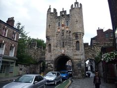 Time Portals in Little Known Britain ~ good article!  Micklegate Bar is the southern gate in the old walled city of York ©  Jeremy Bolwell and licensed for reuse under this Creative Commons Lice...
