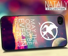 Hunger Games quote  iPhone 4/4s/5 Case  by NatalyCollections, $15.00