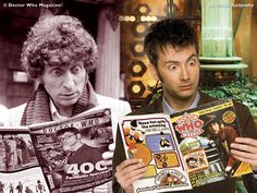 Photo of Doctor Who. Stuff for fans of Doctor Who 22138918 The Doctor, Serie Doctor, Tenth Doctor, David Tennant, Tardis, Bbc, Doctor Who Magazine, Fans, Out Of Touch