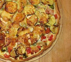 Tarte aux légumes et chèvre : la recette facile