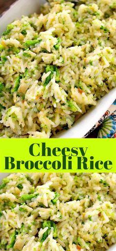 CHEESY BROCCOLI RICE