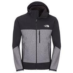 The North Face Men's Apex Bionic Hoodie   The North Face Men's Apex Bionic Hoodie The North Face Apex Bionic Men's Jacket is a versatile stretch softshell that is windproof and features a comfortable fit making it ideal for multiple activities. Supremely breathable with a warm fleece backer to ensure comfort as you run, walk, ski or ride. Features:*Fleece backer*Hem cinch cord*Media-compatible*Molded cuff tabs*Secure-zip Napoleon chest and hand pocketsTNF Apex ClimateBlock 100% windp..