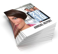 This Annual Report template focuses on company's key figures – each spread highlights one key figure. Sample pages include year overview, business strtegy, vision and mission, and financial statement section with balance sheet, income statement, cash flow statement and changes in equity.