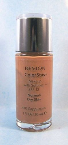 Revlon ColorStay Foundation Makeup Normal Dry Skin - Cappuccino 410 #Revlon #FaceMakeup