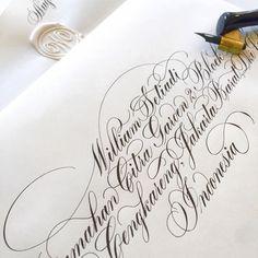 каллиграфия и марки