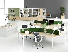 Lovely mix of Workstation, breakout and huddle areas