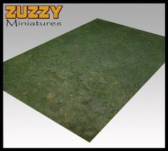Zuzzy gaming terrain mats. Paint 'em, then roll 'em up for storage. Use 'em on any table. Em, I want 'em.