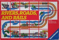 [PnP] RAVENSBURGER Rivers, Roads & Rails (Реки, Дороги и Рельсы) 5+