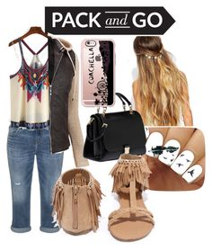 """""""traveling"""" by breeanakelley on Polyvore featuring Silver Jeans Co., Johnny Loves Rosie, Charlotte Russe, Miu Miu, Casetify and Qupid"""
