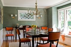 Orange Dining Chairs Design, Pictures, Remodel, Decor and Ideas