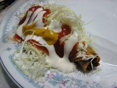 Cocina Costarricense: tacos de Costa Rica