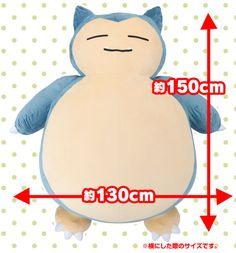 Pocket Monster Pokémon Giant Snorlax Soft Plush PP Cotton Stuffed Toys Cushion Giant Snorlax, Pikachu, Cushions, Pillows, Plush Dolls, Dreaming Of You, Geek Stuff, Disney Characters, Design
