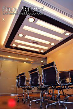 1000 images about faux plafond on pinterest salons restaurant and serum for Comfaux plafond contemporain