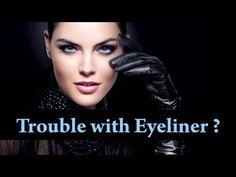 ▶ How to apply EYELINER on HOODED eyes / DROOPY eyes / ROUND eyes : Eyeliner Makeup Tutorial - YouTube