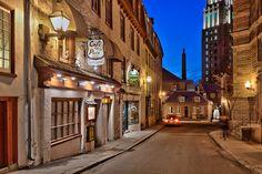 #ExperienciasCanadienses - Caminar por las hermosas calles de Quebec.