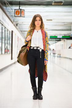 20 Snaps Of S.F.'s Most Stylish Commuters  #refinery29  http://www.refinery29.com/san-francisco-subway-street-style-pictures#slide-19  Name: Nefedora NadiaJob: StylistWhat She's Wearing: Vintage sweater, jeans, and boots.Where We Spotted Her: BART, Powell Street Station