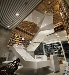 Hyundai Card Travel Library - Seoul, South Korea   © Nacása & Partners Inc.