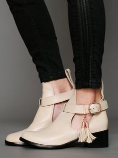 Shakuhachi Nix Cutout Ankle Boot at Free People Clothing Boutique
