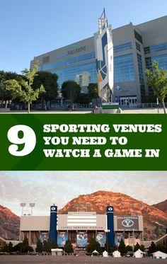 Sports Venues in Utah