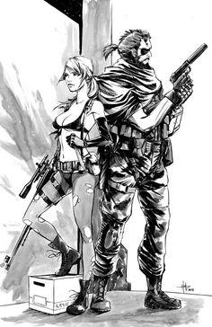 Quiet and Venom Snake
