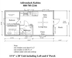 12x24 cabin floor plans Google Search Cabin Plans Pinterest