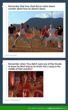 high school musical tumblr funny ☺ ☺