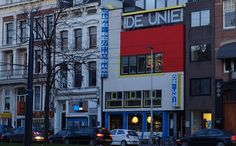 Analogías del arte total Cafe DE UNIE, jjp Oud