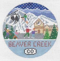 """Beaver Creek Round 4"""" 18 mesh"""