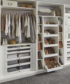 Our wardrobes have loads of fantastic combinations for organising shoes, bags, c. Our wardrobes have loads of fantastic combinations for organising shoes, bags, clothes in Wardrobe organization Bedroom Built In Wardrobe, Fitted Bedroom Furniture, Fitted Bedrooms, Wardrobe Room, Wardrobe Storage, Wardrobe Closet, Closet Bedroom, Modern Wardrobe, Fitted Bedroom Wardrobes