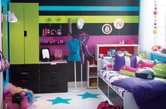 """Las habitaciones de las niñas empiezan a ser """"algo"""" diferentes a las de los niños..."""