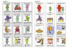 Spraoi online - all kinds of posters and charts in Irish/Gaeilge Irish Language, Primary Teaching, Infants, Languages, Ireland, Life Hacks, Europe, Classroom, Teacher