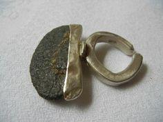 ring  sterling silver, stone from mpumalanga marina louw