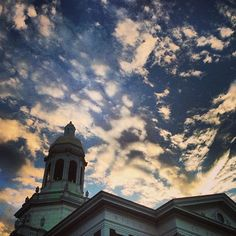 Another beautiful night at #Baylor University! (via bayloruniversity on Instagram)