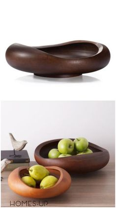 Wooden fruit bowl when your home have guests you can use it