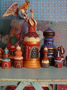 russian little houses